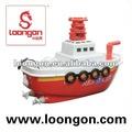 Loongon 4-way rc barco con la batería del rc barco eléctrico sin escobillas