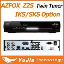Twin Tuner Satellite Receiver Azfox Z2S HD for South America