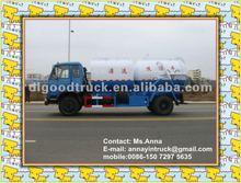 11m3 dongfeng de limpeza de alta pressão de vácuo e caminhão de sucção de esgoto