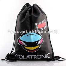 Promotional waterproof nylon drawstring backpack