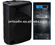 "YL series 8"" 2 way passive plastic cabinet speaker, 8"" speaker box"