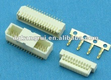 1.0mm pitch single row dual row with lock connector wire to board CONNECTOR