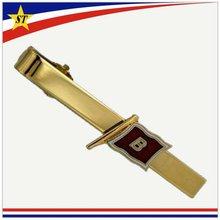 tie clip with custom logo