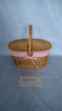 willow basket for gifts and flowers wholesale