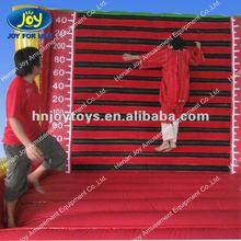 Velcro inflatable sticky wall velcro sticky suit