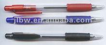 transparent BIC style ball pen