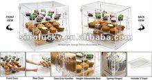 acrylic Food Display Bin Bewitches Customers To Buy Treats