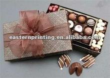 Custom chocolate package