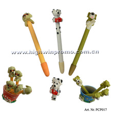 Promotional Dog-shaped Clay Pen
