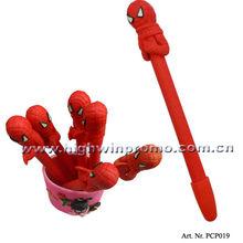 Spider-man Design Polymer Clay Pen