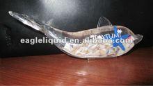 dolphin shaped liquid acrylic beer bottle opener