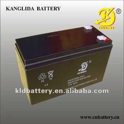 Maintenance free deep cycle storage battery Mexico 12v9ah/AGM VRLA battery