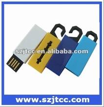 2.0 USB Flash Memory, Pen Drive with Clothes Shelf Shape, Mini USB Stick 4GB