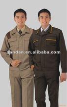 2012 most fashionable CVC workwear uniform set