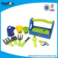Kid hand garden tools set toy
