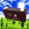 Maintenance free lead acid battery 6v1.3ah automatic door