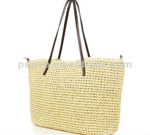Bolsos para playa tejidos a crochet - Imagui