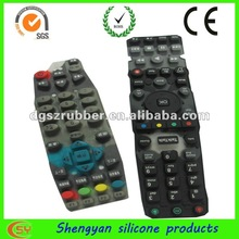 Different kinds waterproof silicone remote rubber
