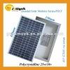 25W solar panel high efficiency polycrystalline