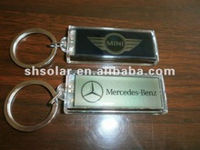 lcd solar flashing key chain,advertising lcd keychain wholesale