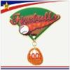 Promotion Car Sports gold Metal Custom badge pin
