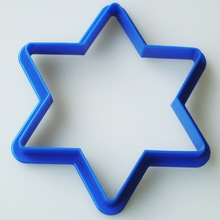 Plastic cookie cutter(lily)