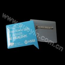 stainless iron epoxy logo name tag maker