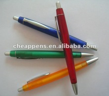 promotional pen with metal clip