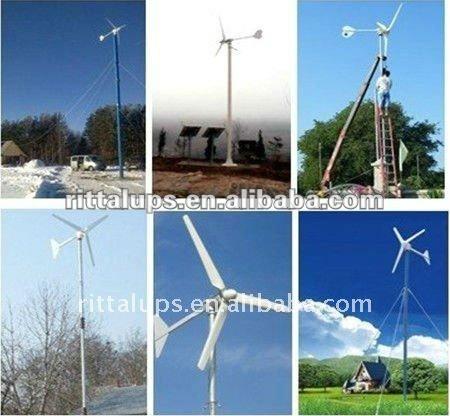 500w, 600W,1KW,2KW,3KW wind power generator