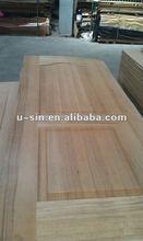 oak veneer surface molded door skin