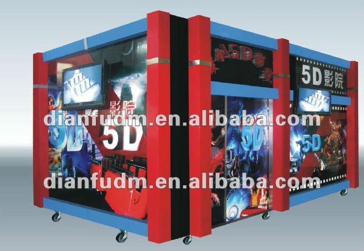 5D cinema arcade game machines--5D movie