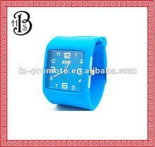 fashion watches enviromental silicone watch
