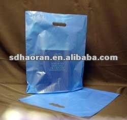 blue bond patch handle bag