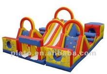 Mini commercial cartoon inflatable bouncer combo