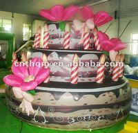 2014 Huge Inflatable Oxford Cake Model