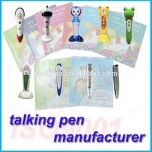 300mAh lithium battery magic Learn Language Talking Pen Factory Customized