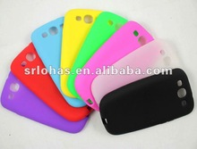 hot sale & fashion shape silicone phone cases for Sumsung Glaxy S III i9300
