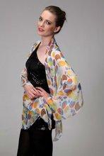 Fashion 100% silk chiffon scarf 2012