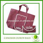 wholesale promotion foldable bag,non-woven folding shopping bag,foldable non woven bag
