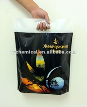 LDPE Patch handle bag plastic bags for newspaper delivery