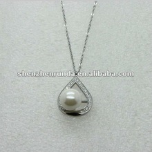 Fashion vners pearl necklace kids pendant steel Manufacturer & Factory & Supplier