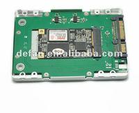 "Mini Sata Convert to 2.5"" SATA SSD Caddy for Netbook"
