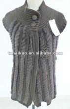 2013 new style ladies fashion fur vest