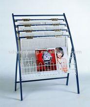 #A-812 Comprehensive & Mobile brochure stand/Magazine rack