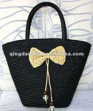 Casual Wheat Straw Shopping Bag