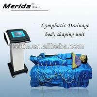 8 Inchs touch screen air pressure far infrared sculptor body massager