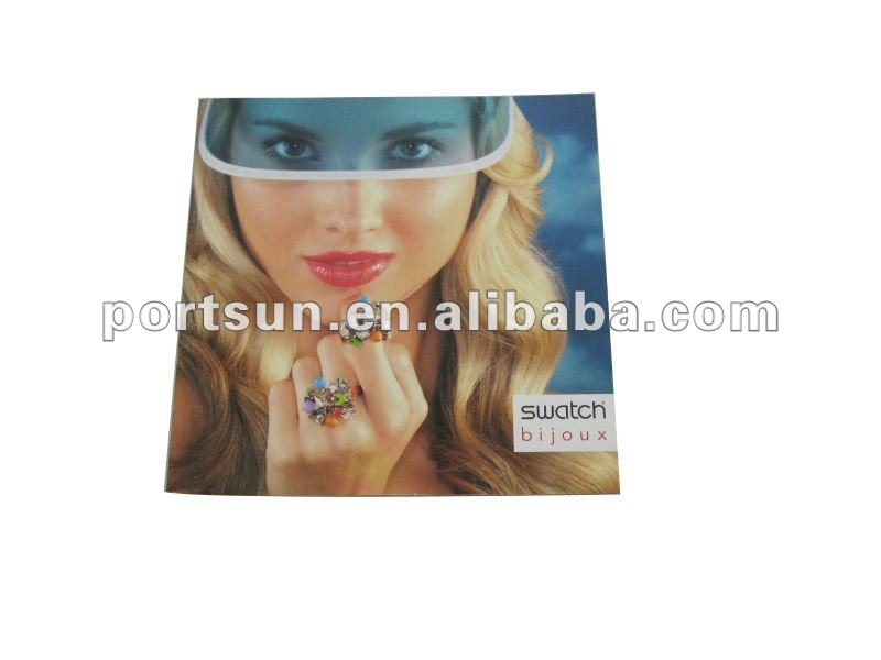 good quality and beautiful catalogue&brochure for jewelry