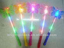 Magic led flashing wand dragon fly shaped stick