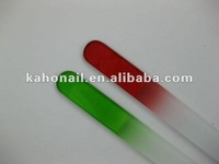 china promotion gift factory fashion nair art nail beauty glass nail file high quality mini emery boards