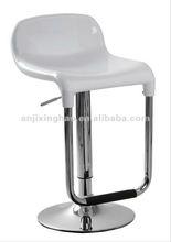 Modern Popular adjustable swivel ABS plastic bar stool chair XH-148